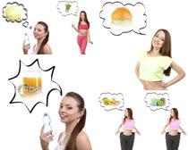 欧美减肥营养妹子摄影高清图片