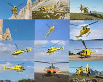 直升飞机摄影高清图片