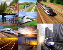 火车动车摄影高清图片