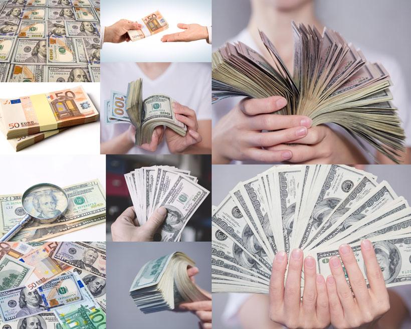 美元金融货币摄影高清图片
