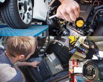 汽车护理保养拍摄高清图片