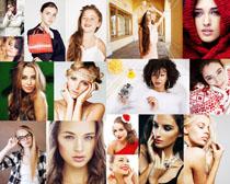 时尚化妆美女拍摄高清图片