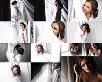 婚纱女人写真拍摄高清图片