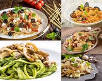 炒粉条食物摄影高清图片