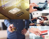 商务信用卡摄影高清图片