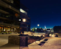 城市夜景照后期调色LR预设