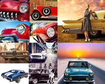 古典老式汽车摄影高清图片