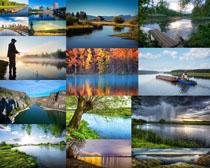 河流自然风景摄影高清图片