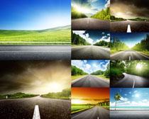 道路风景拍摄高清图片