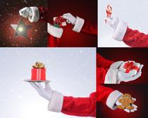 圣诞节礼物人物摄影高清图片