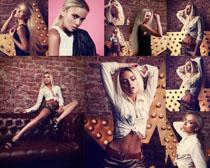 时尚欧美女子写真摄影高清图片
