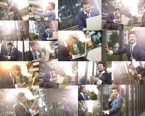 商务阳光男人拍摄高清图片