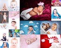 可爱欧美宝宝摄影高清图片