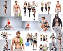 健身欧美男女摄影高清图片