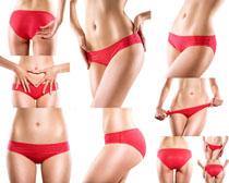 内裤身材女子摄影高清图片