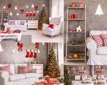 圣诞树家居摄影高清图片