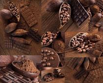 巧克力花生摄影高清图片