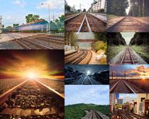 火车道路摄影高清图片