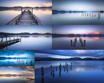 湖水梦幻风景摄影高清图片