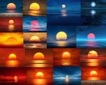 大海日落风景摄影高清图片