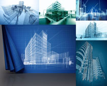 3D建筑物摄影高清图片