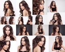 欧美发型美女拍摄高清图片