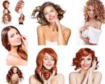 欧洲发型美女摄影高清图片