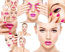 肌肤化妆美女摄影高清图片