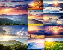 美丽的天空风景摄影高清图片