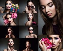 化妆欧美美女写真拍摄高清图片
