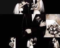 美丽的婚纱写真摄影高清图片