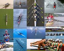 划艇运动员摄影高清图片