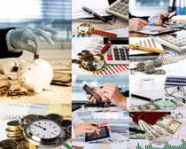 金融商务理财摄影高清图片