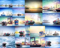 海上运输轮船摄影高清图片
