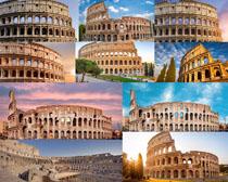 罗马建筑风景拍摄高清图片
