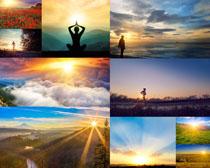清晨景观风景摄影高清图片