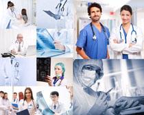工作的医生摄影高清图片