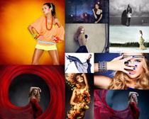 时装女性模特摄影高清图片