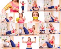 瘦身减肥女子摄影高清图片