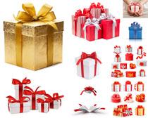 节日包装礼物盒摄影高清图片