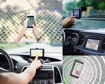 汽车导航工具摄影高清图片
