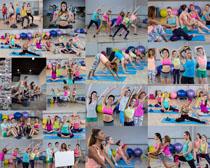 做健身的女人摄影高清图片