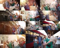 青年人物旅游摄影高清图片