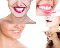 美女微笑牙齿摄影高清图片