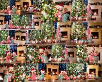 圣诞树与小孩摄影时时彩娱乐网站