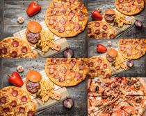 美食披萨摄影高清图片