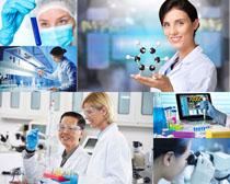 医疗机构与医生摄影高清图片