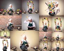 欧美厨师男人摄影高清图片
