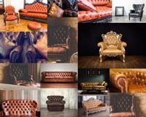 欧美家居沙发摄影高清图片
