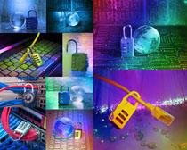科技数码锁摄影高清图片